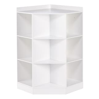 Riverridge Kids  Shelf Corner Cabinet White