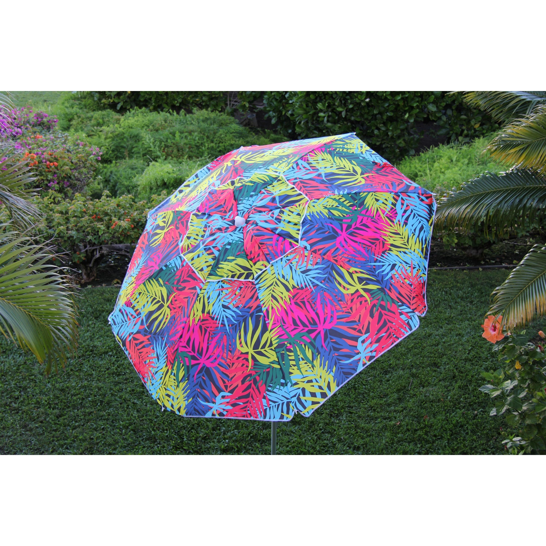 Heininger DestinationGear 7 ft Palms Beach Umbrella With ...