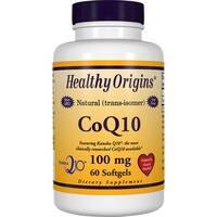 Healthy Origins CoQ10 100 mg (60 Softgels)
