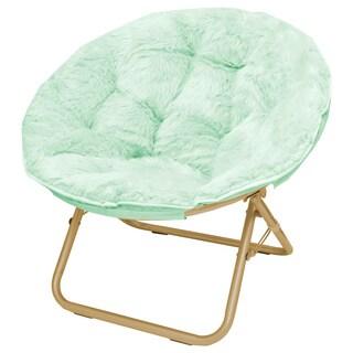 Superbe Seventeen Micromink Papasan Chair