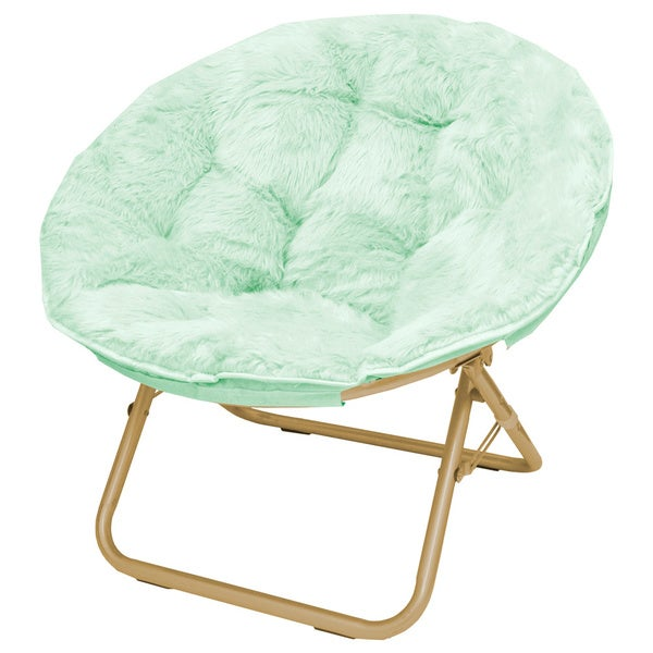 Seven Micromink Papasan Chair