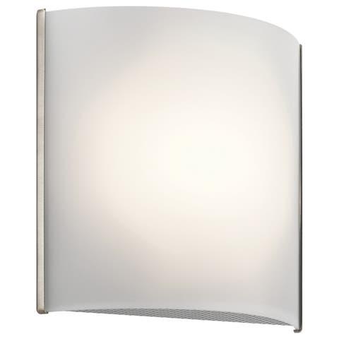 Kichler Lighting Transitional 1-light Brushed Nickel LED Wall Sconce