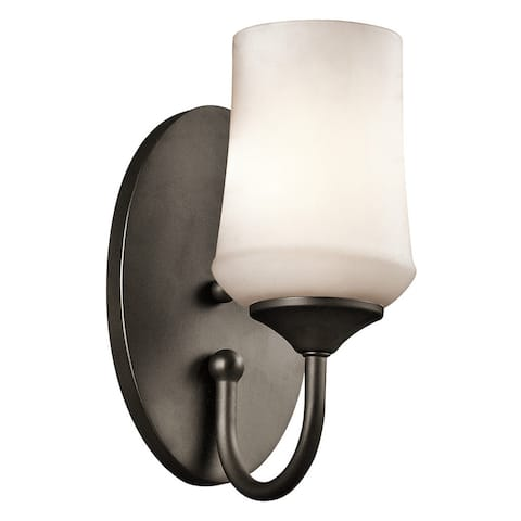 Porch & Den Dunham 1-light Olde Bronze LED Wall Sconce