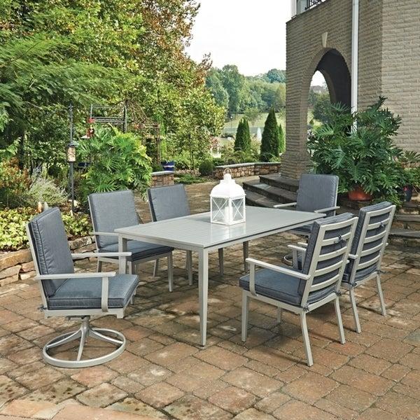 Shop South Beach 7 Pc Rectangular Outdoor Dining Table