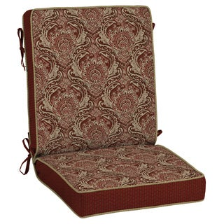Bombay Outdoors Red Snap Dry Chair Cushion