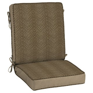 Bombay Outdoors Brown Snap Dry Chair Cushion