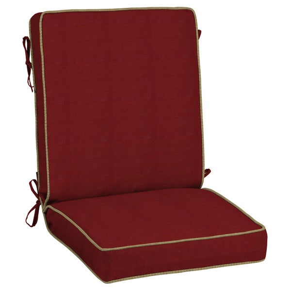 Bombay Outdoors Berry Texture Snap Dry Chair Cushion