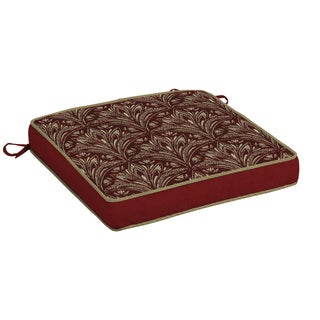 Bombay Outdoors Red Seat Cushion