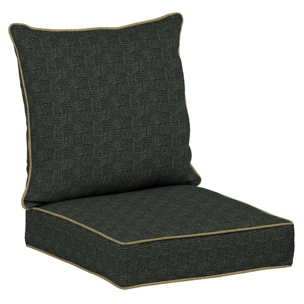 Bombay Outdoors Green Snap Dry Deep Seat Cushion Set