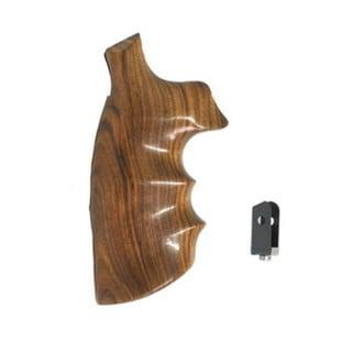 Hogue Wood Grips - Pau Ferro K or L Round Conversion