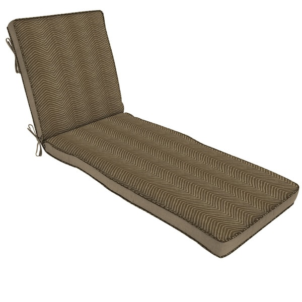 Bombay Outdoors Brown Chaise Cushion