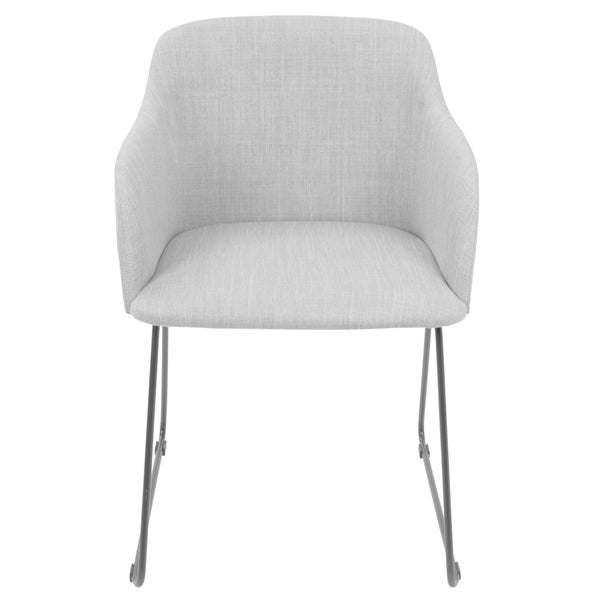 LumiSource Daniella Contemporary Dining Chairs (Set of 2)