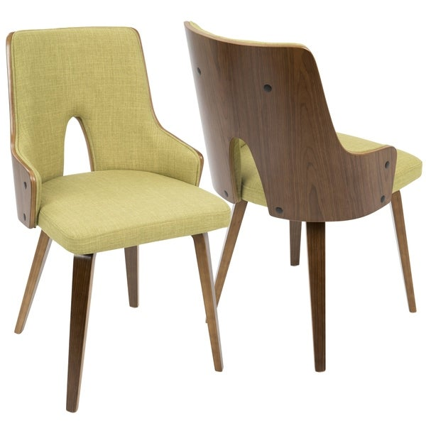LumiSource Stella Mid-Century Modern Padded Dining/Accent Chair (Set of 2). Opens flyout.
