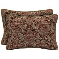 Bombay Outdoors Venice Oversize Lumbar Pillow with Welt (Set of 2)
