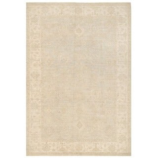 Herat Oriental Afghan Hand-knotted Over-dyed Oushak Wool Rug (5'11 x 8'8)