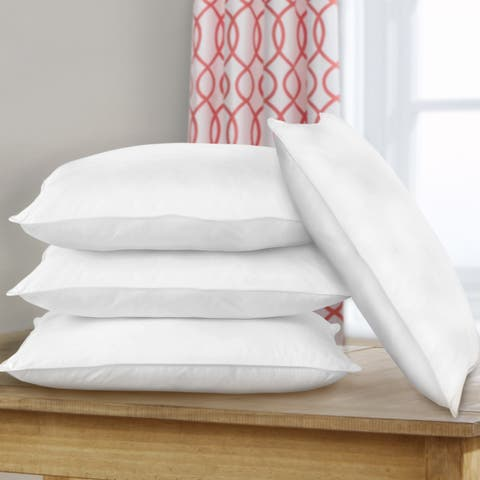 Miranda Haus Dover Hypoallergenic Down Alternative Pillows (Set of 4) - White