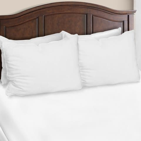 Miranda Haus Dover Hypoallergenic Down Alternative Pillows (Set of 4) - White