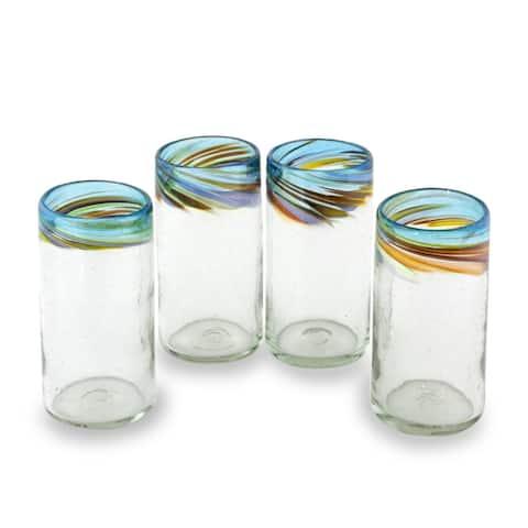 Blown Glass Tumblers, Aurora