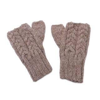 Handmade Alpaca Gloves, Tan Attraction (Peru)|https://ak1.ostkcdn.com/images/products/14230481/P20821699.jpg?impolicy=medium