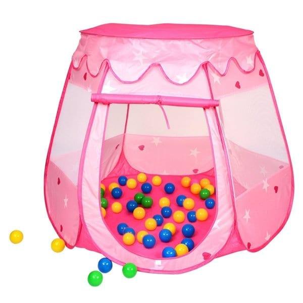 Alina Kid Outdoor/ Indoor Princess Play Tent Ball Pit