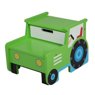 Olive Kids Tractor Step 'n Store