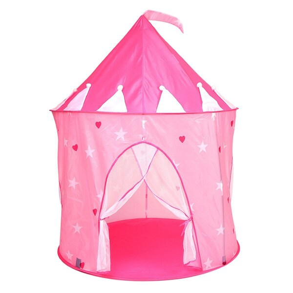Alina Pink Princess Castle Play Tent