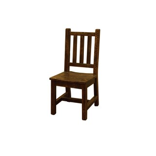 Barn Wood Style Timber Peg Dining Chair- Amish Made