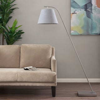 Madison Park Parker Silver Floor lamp