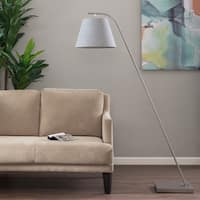 Madison Park Parker Silver Floor lamp