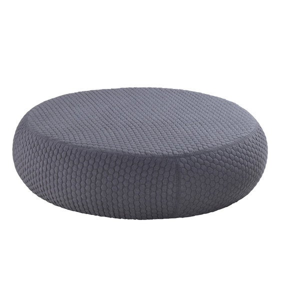 huge discount 45c05 674f5 DG Casa Large Grey Venus Pouf