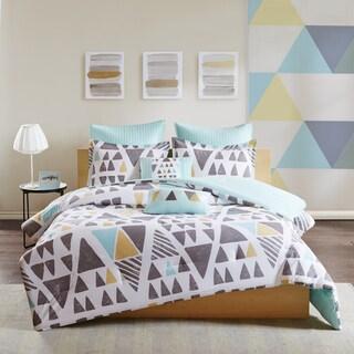 Urban Habitat Levi Aqua 7-Piece Cotton Comforter Set