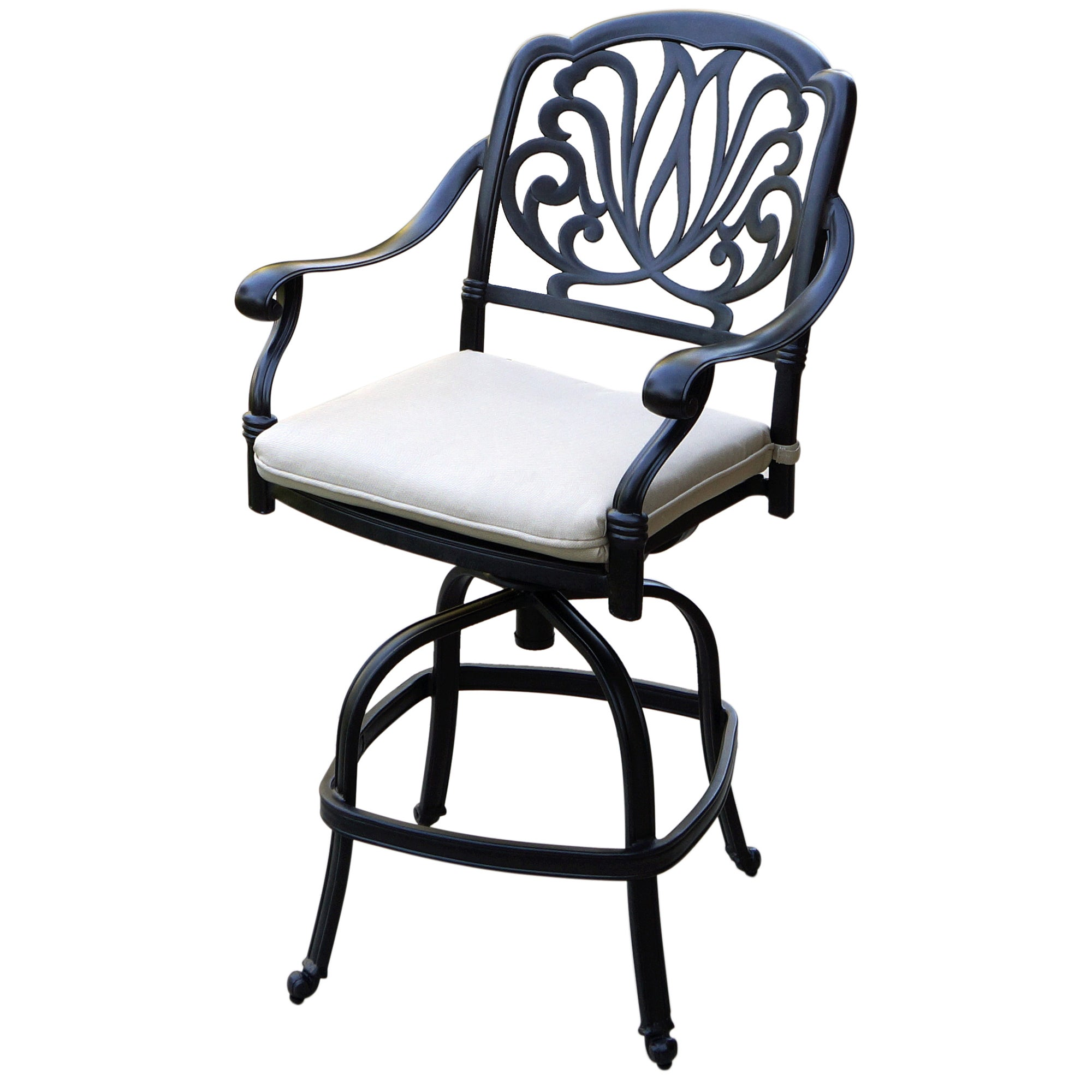 Astounding Sicily 5 Piece Bar Set With Seat Cushion 42 Inch Counter Height Onthecornerstone Fun Painted Chair Ideas Images Onthecornerstoneorg