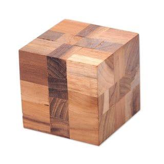 Teakwood Puzzle, Cube Quiz (Indonesia)