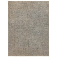 Herat Oriental Afghan Hand-knotted Over-dyed Oushak Wool Rug (4'10 x 6'6)