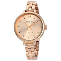 Marc Jacobs Women's MBM8643 'Sally' Rose-Tone Stainless Steel Watch