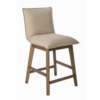 INK+IVY Kendall Tan/ Light Grey 24-Inch Counterstool