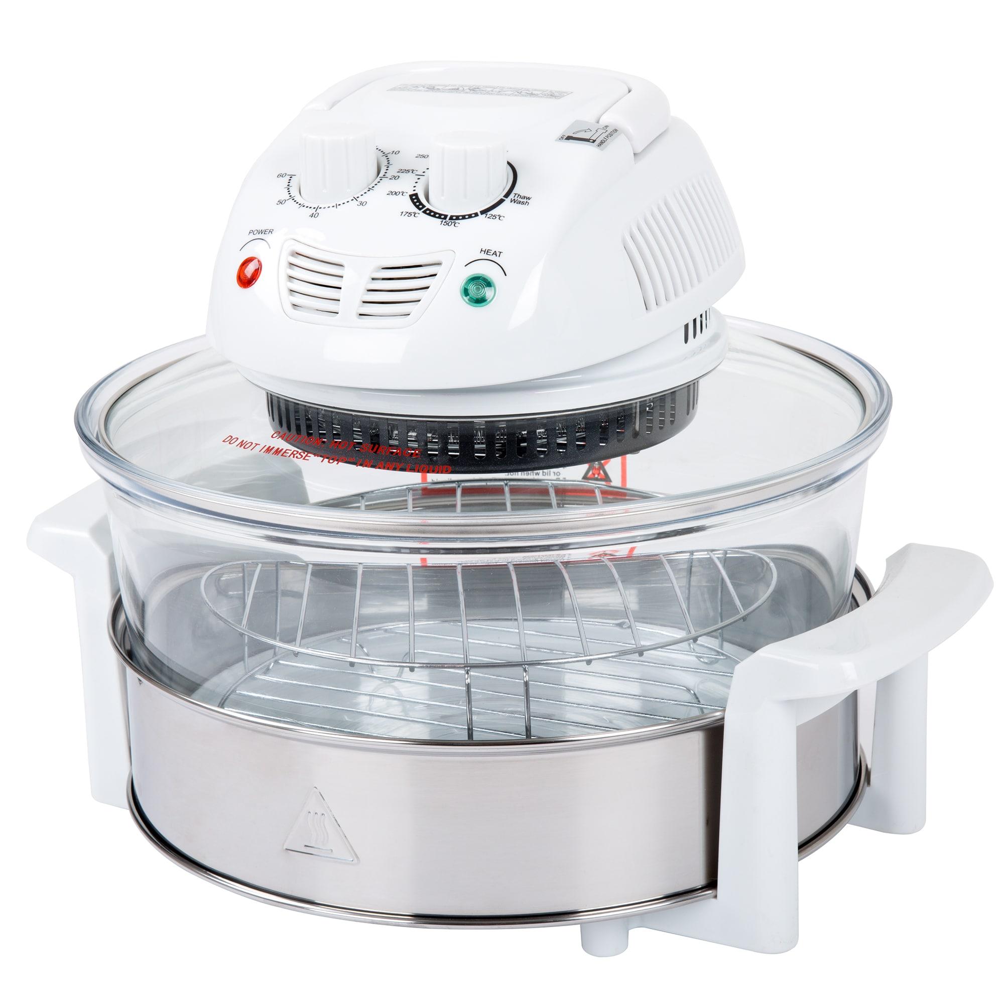Classic Cuisine 12-17 Quart 1200W Halogen Tabletop Oven -...