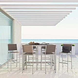 Shore 7-piece Outdoor Patio Aluminum Dining Set