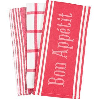 Kitchen Towels 'Bon Appetit' (Set of 3)|https://ak1.ostkcdn.com/images/products/14230711/P20821897.jpg?impolicy=medium