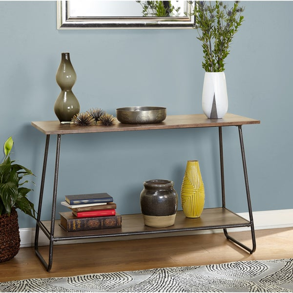Shop Simple Living Francisky Mid Century Console Table
