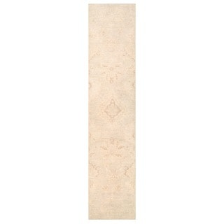 Herat Oriental Afghan Hand-knotted Vegetable Dye Oushak Wool Runner (2'8 x 13'2)