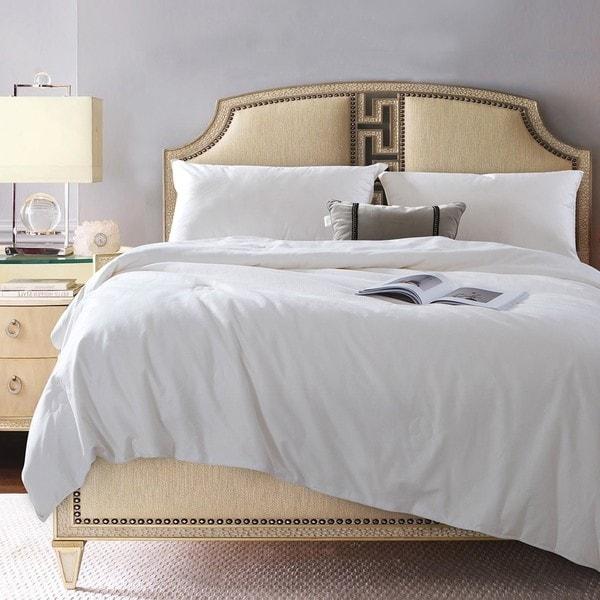Qbedding Cotton Tussah Silk Comforter