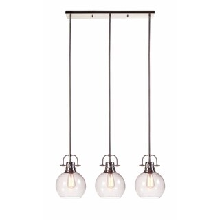 Johano Gray Glass 32 Inch Wide Pendant Light