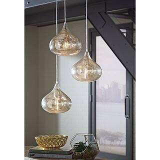 Signature Design by Ashley Jodoc Silver Finish Glass Pendant Lights|https://ak1.ostkcdn.com/images/products/14230822/P20821985.jpg?impolicy=medium