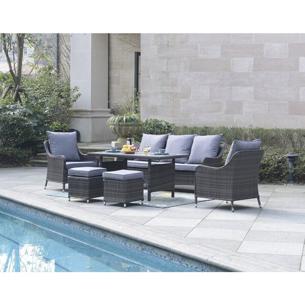 Superb Dg Casa Maui 6 Piece Outdoor Dining Set Best Image Libraries Weasiibadanjobscom