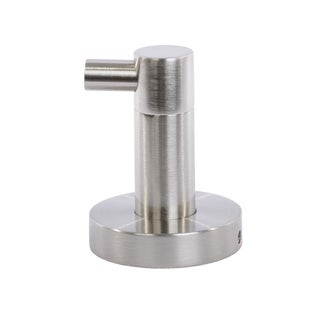 Italia Venezia Brushed Nickel Robe Hook