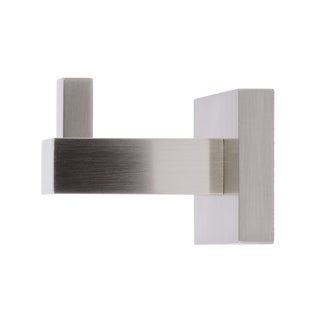 Italia Capri Brushed Nickel Robe Hook