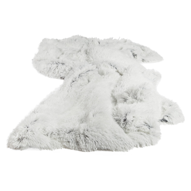 Chateau by Sheri Shag Faux Fur Frost Throw Blanket (Throw...