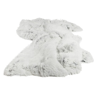 Chateau by Sheri Shag Faux Fur Frost Throw Blanket
