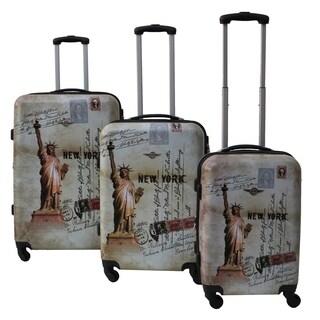 Rivolite New York 3-piece Expandable Hardside Spinner Luggage Set